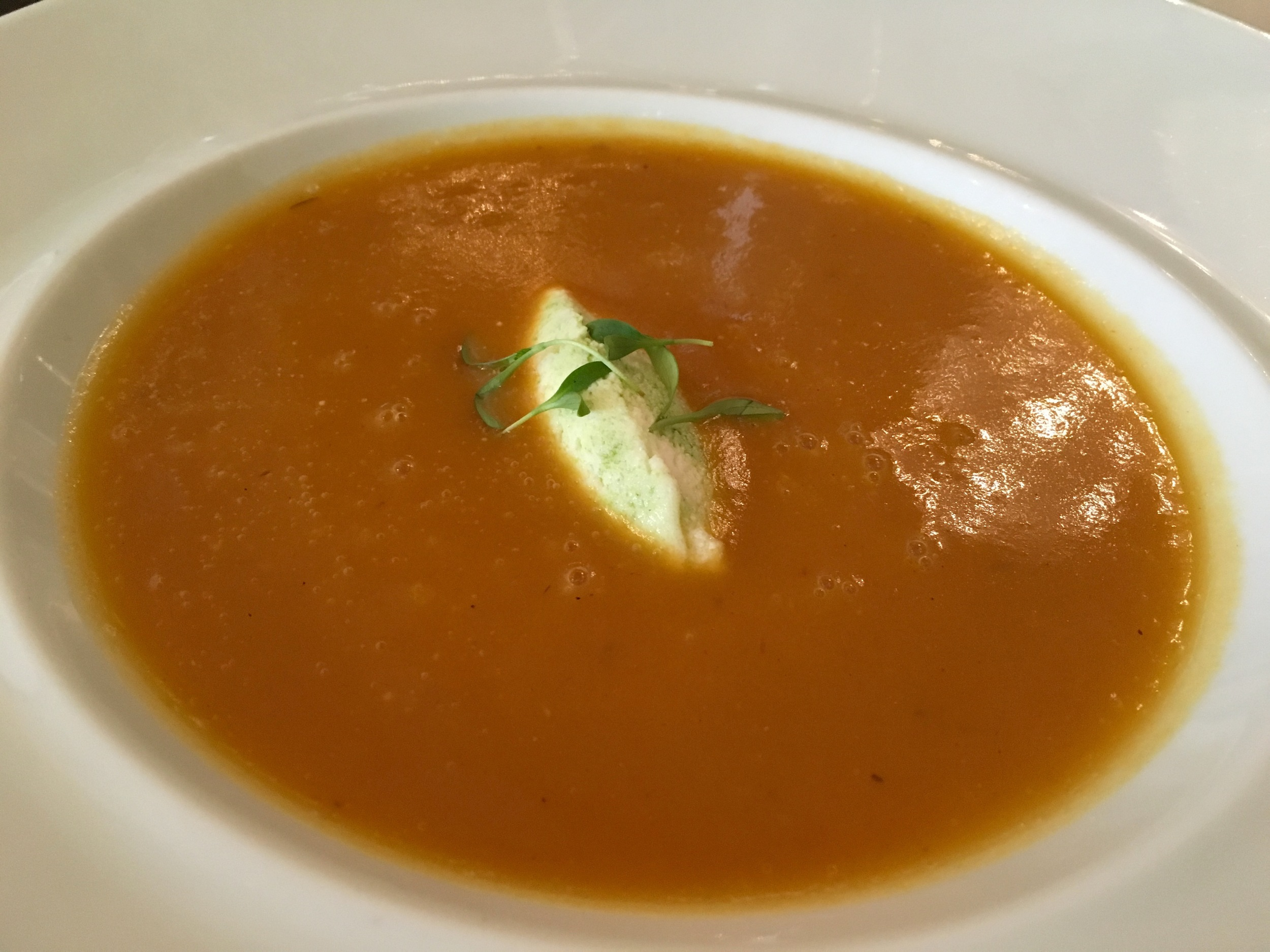 pumpkin chestnut soup