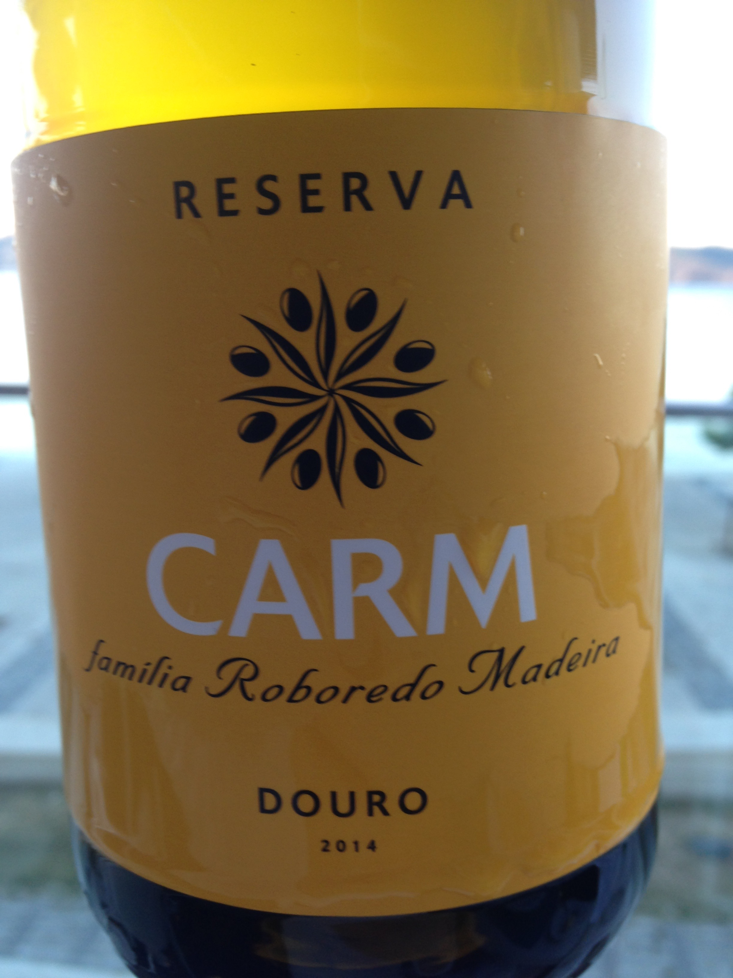 CARM Douro white wine!
