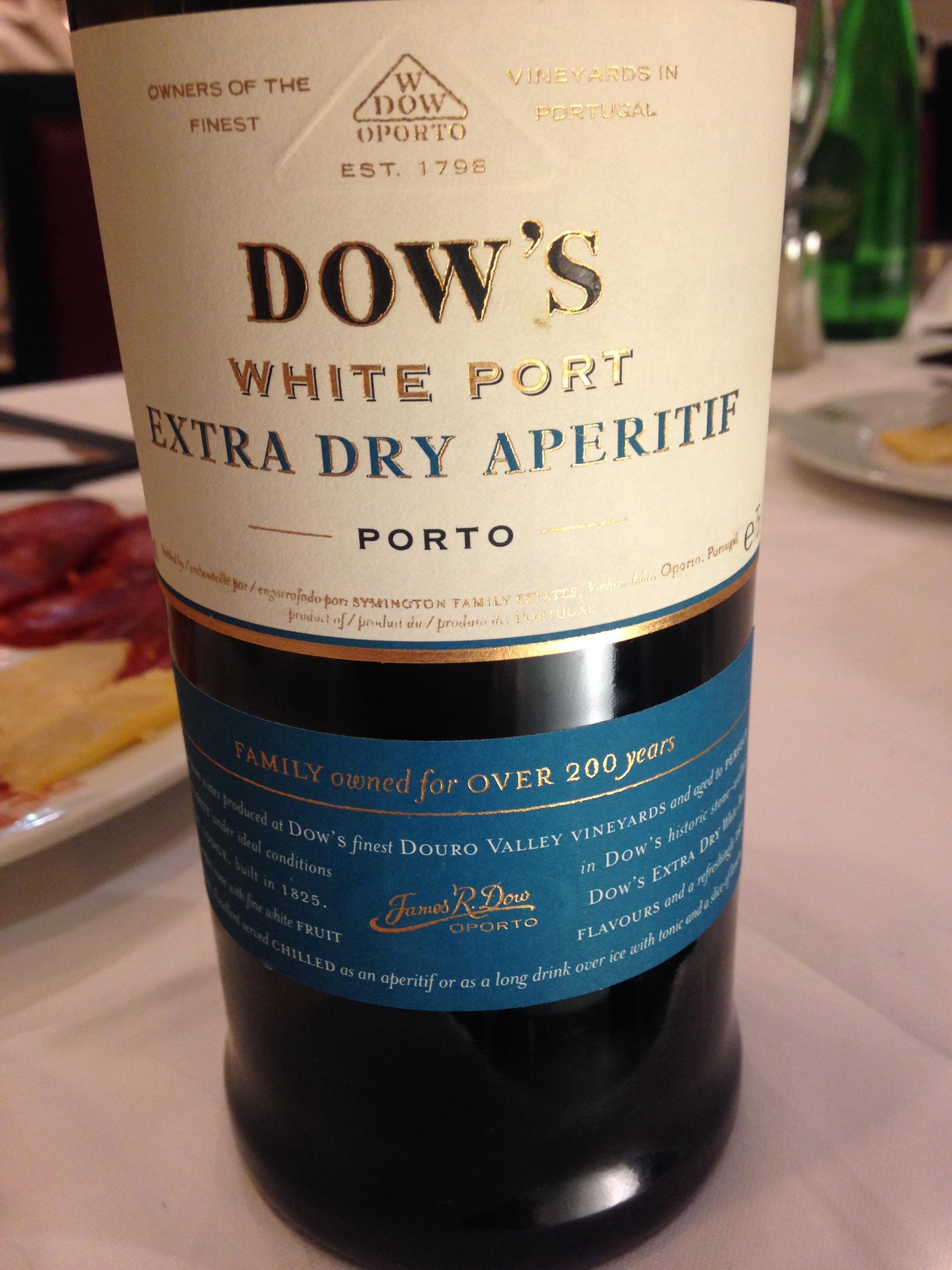 white port aperitif