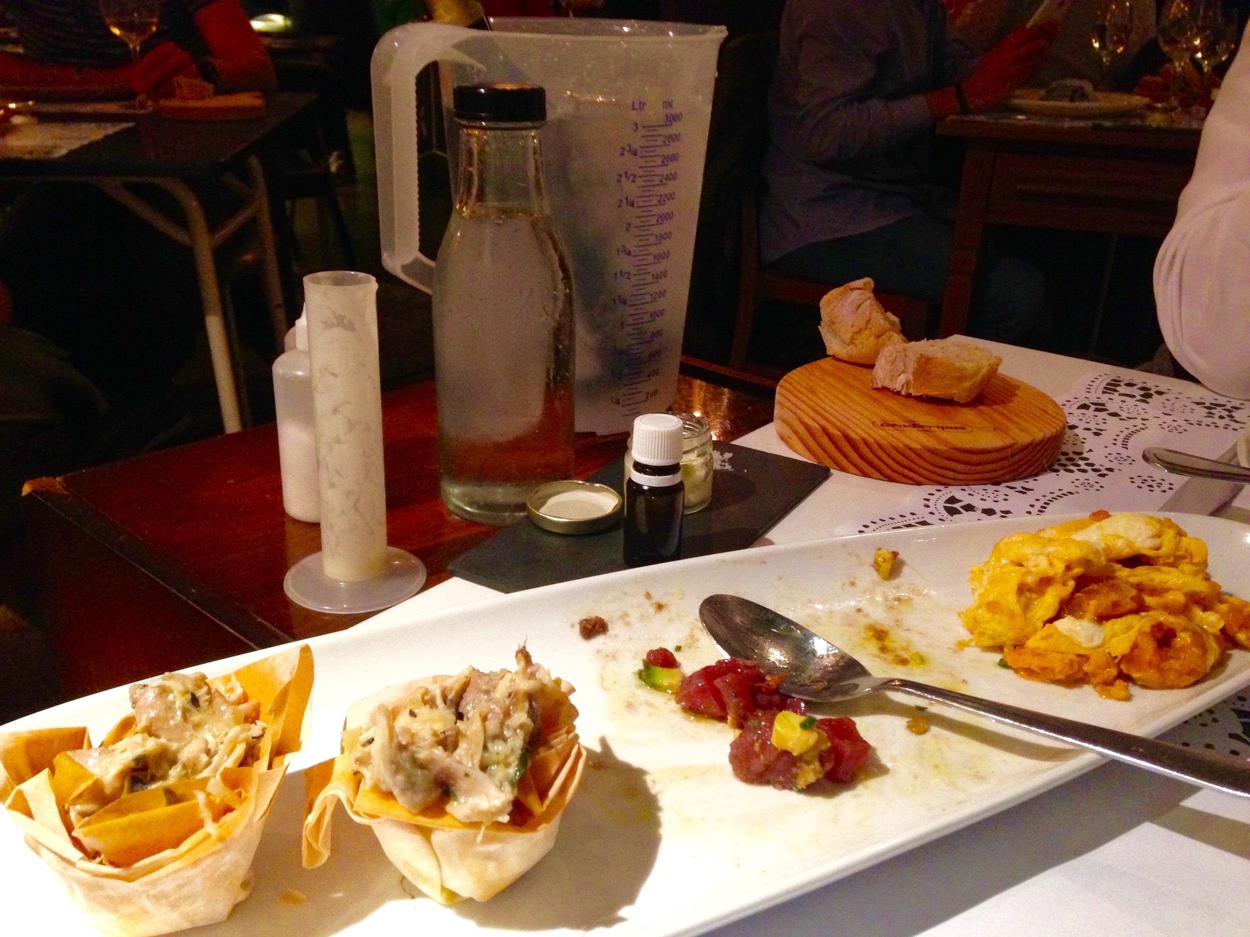 tasting menu part 1