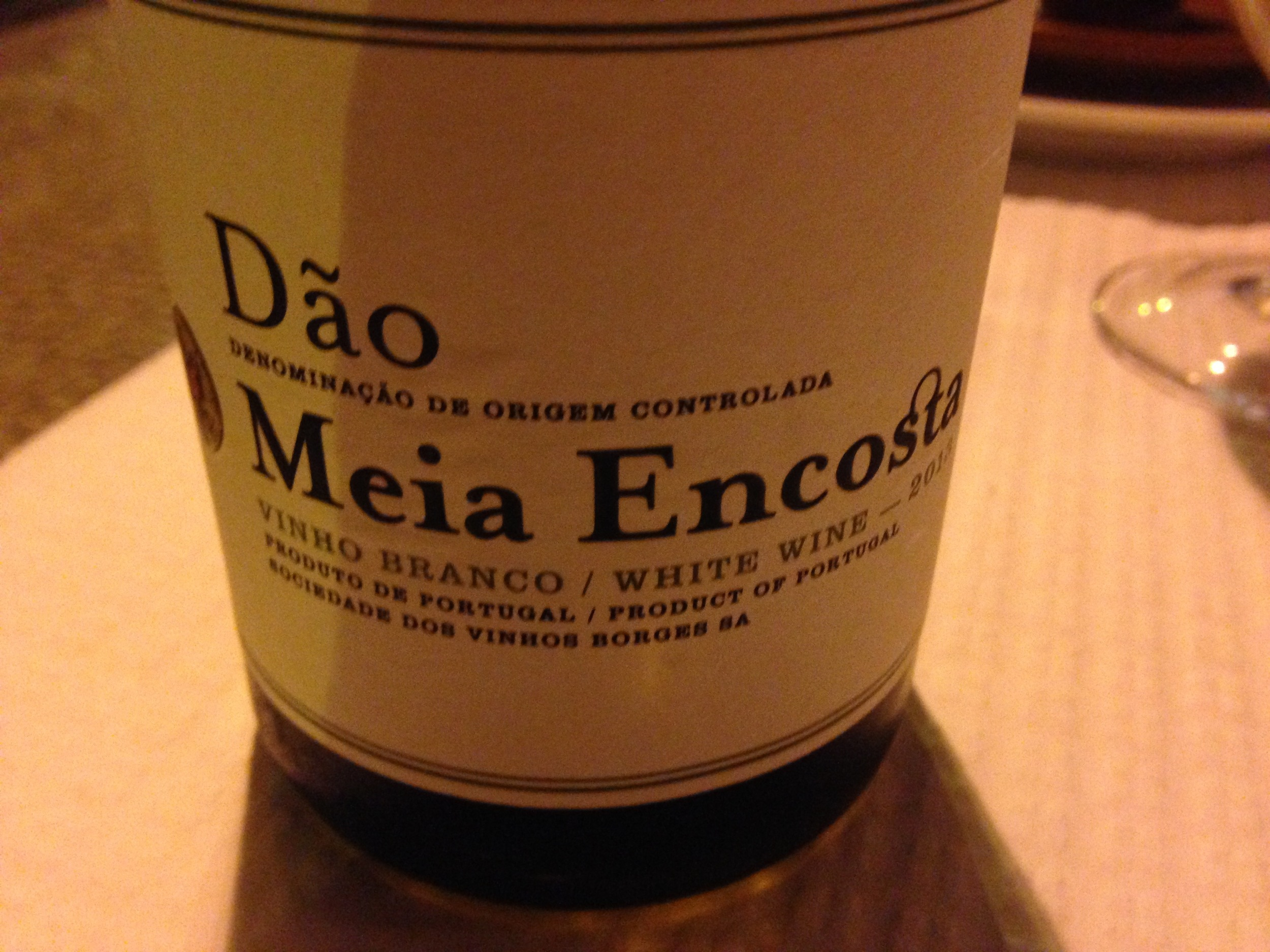 half bottle Dao white