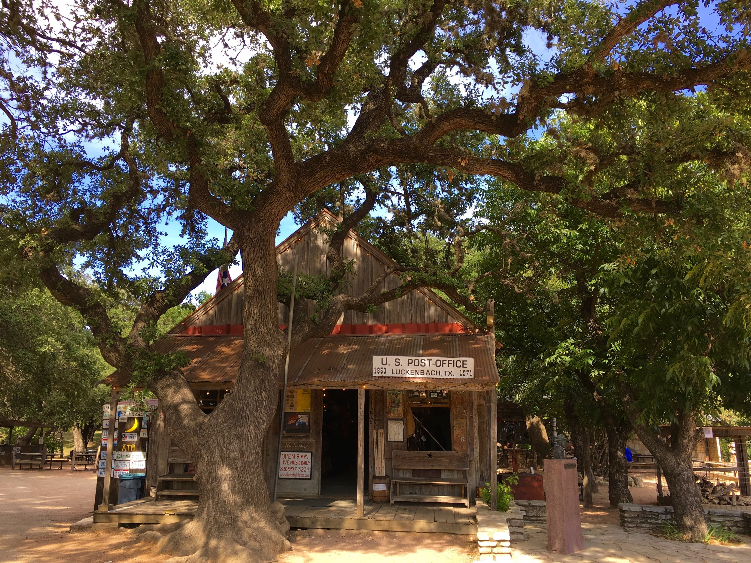 Let's go to Luckenbach, Texas with Waylon and Willie and the boys...