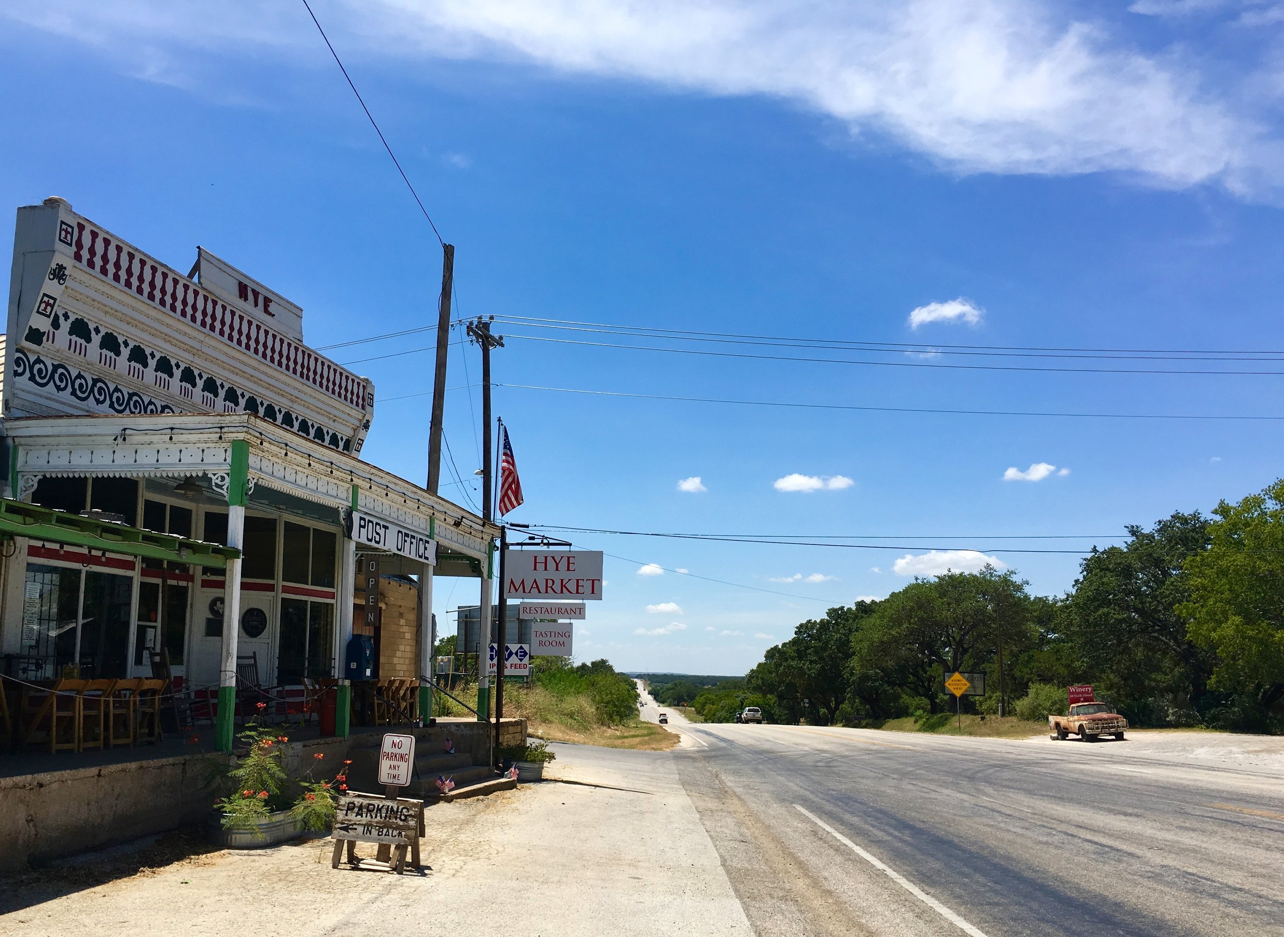 Hye Market in Texas Hill Country