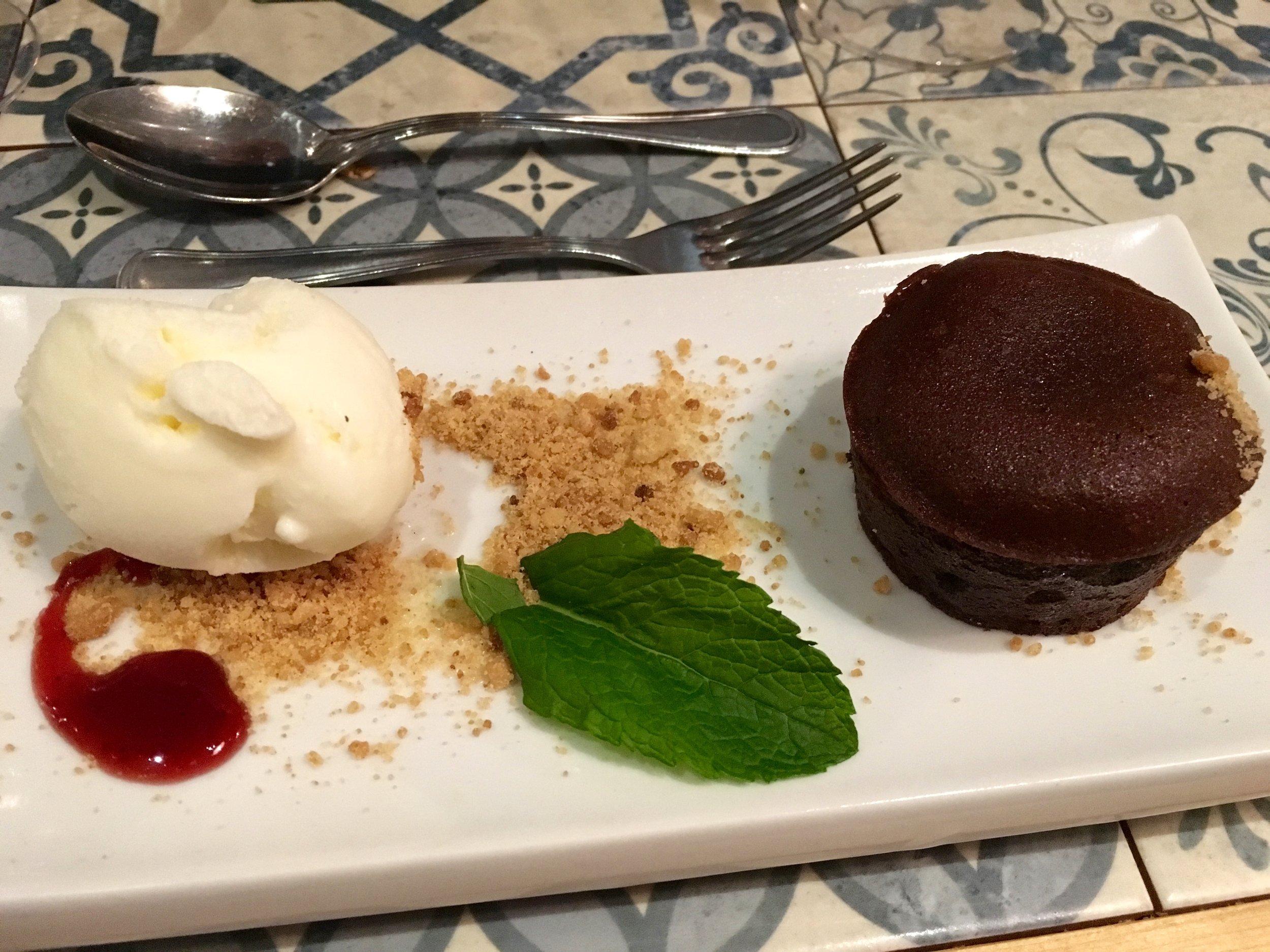 PB&J dessert