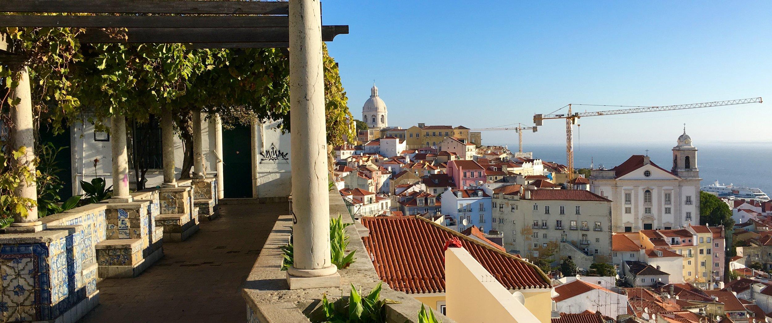 Miradouro de Santa Luzia, Lisbon, Portugal