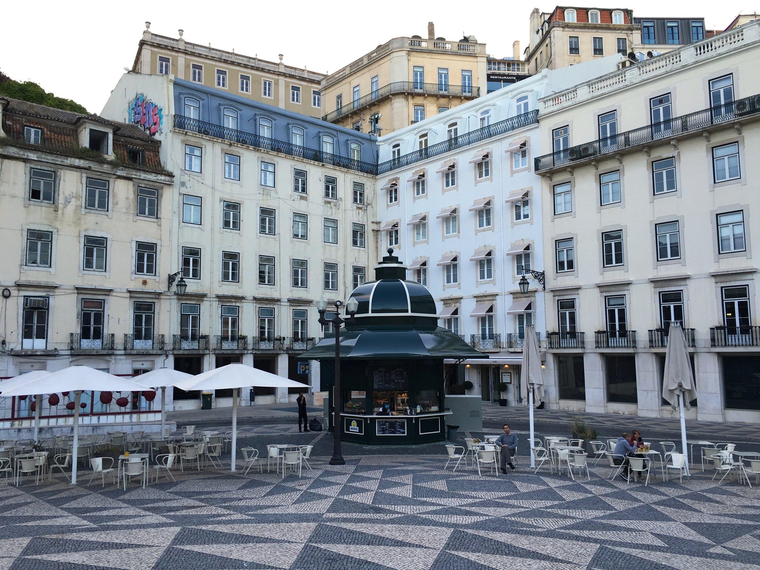 Quiosque Praça do Municipio, Lisbon
