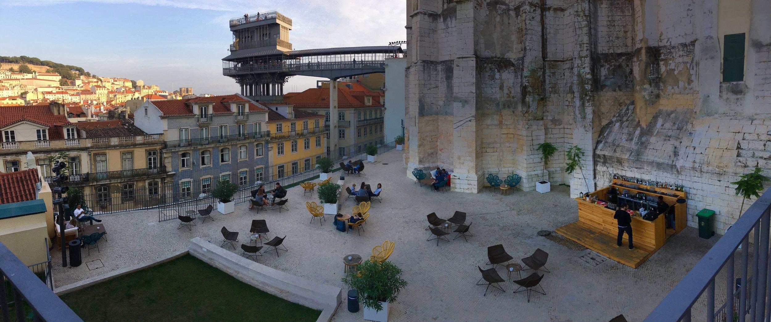 Topo Chiado, Lisbon