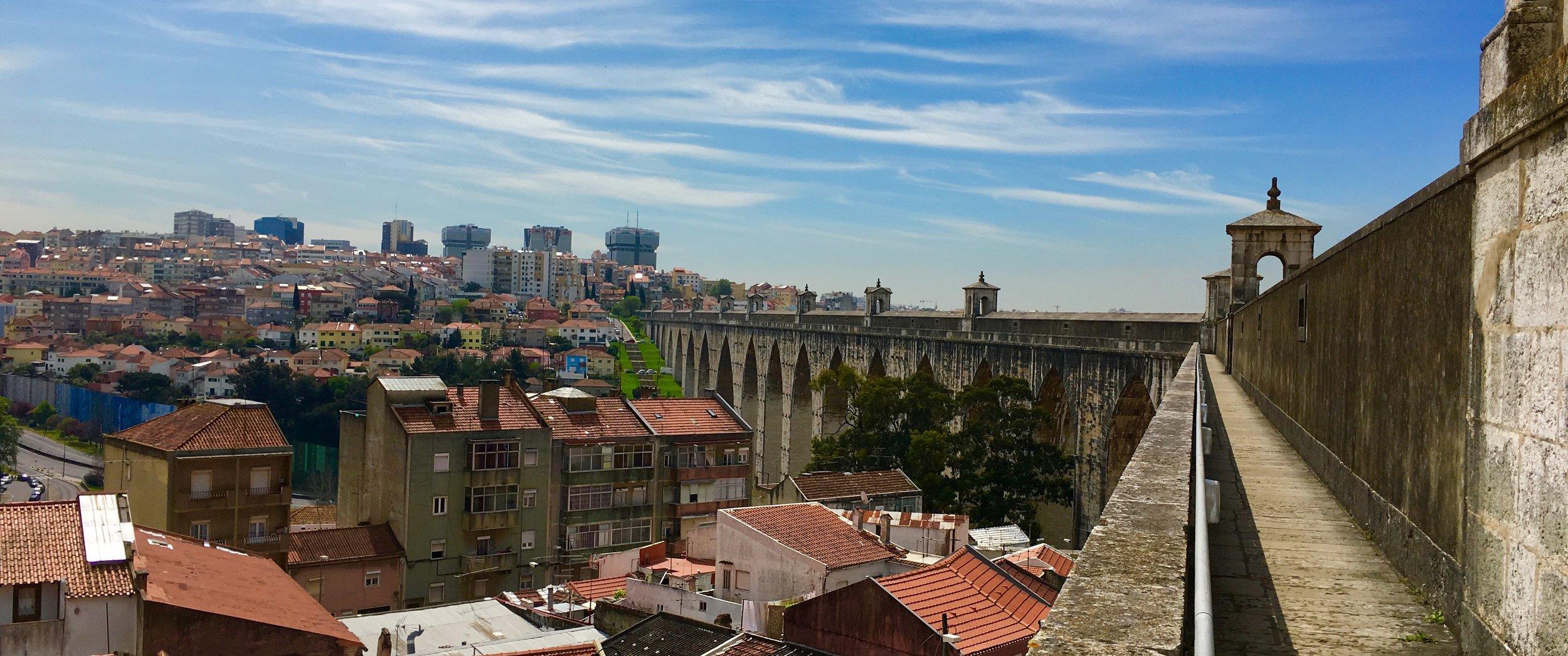 Águas Livres Aqueduct tour, Lisbon
