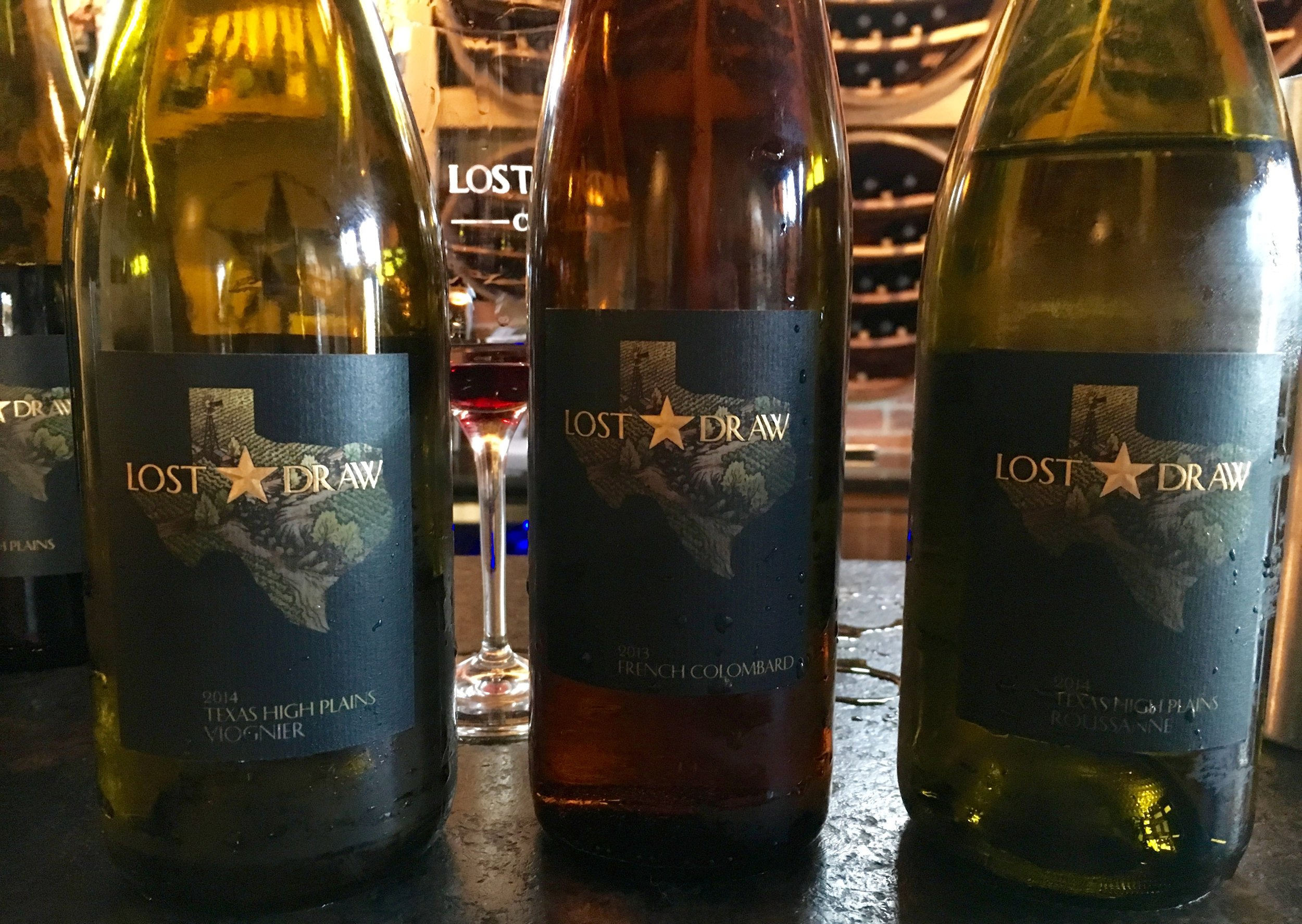 Roussanne, Colombard, Viognier