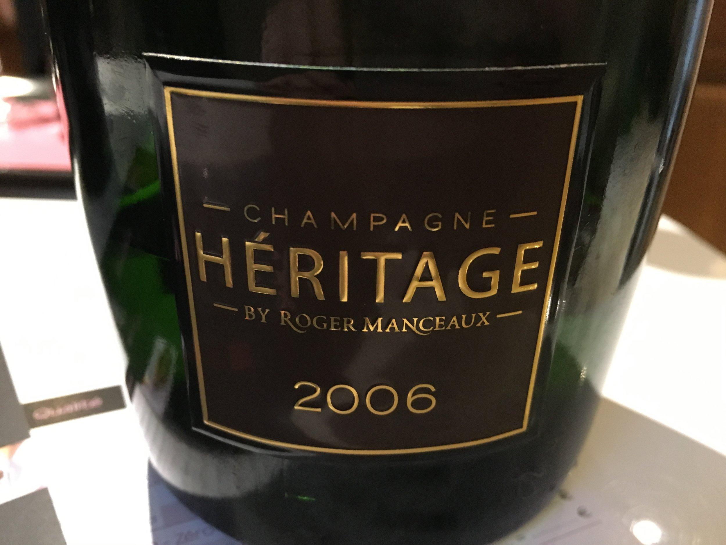 Cuvée Heritage 2006