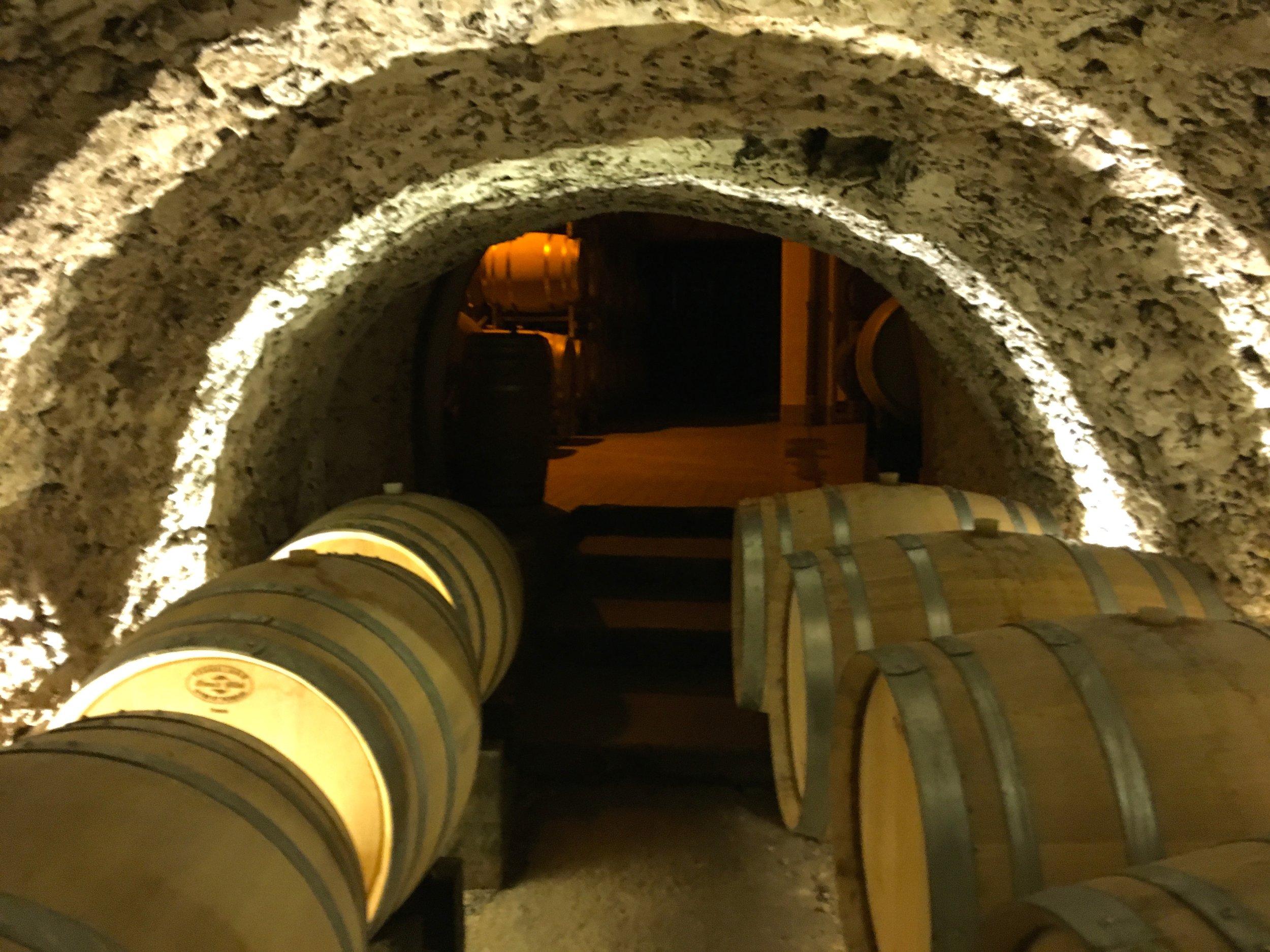 Champagne Tarlant Cave