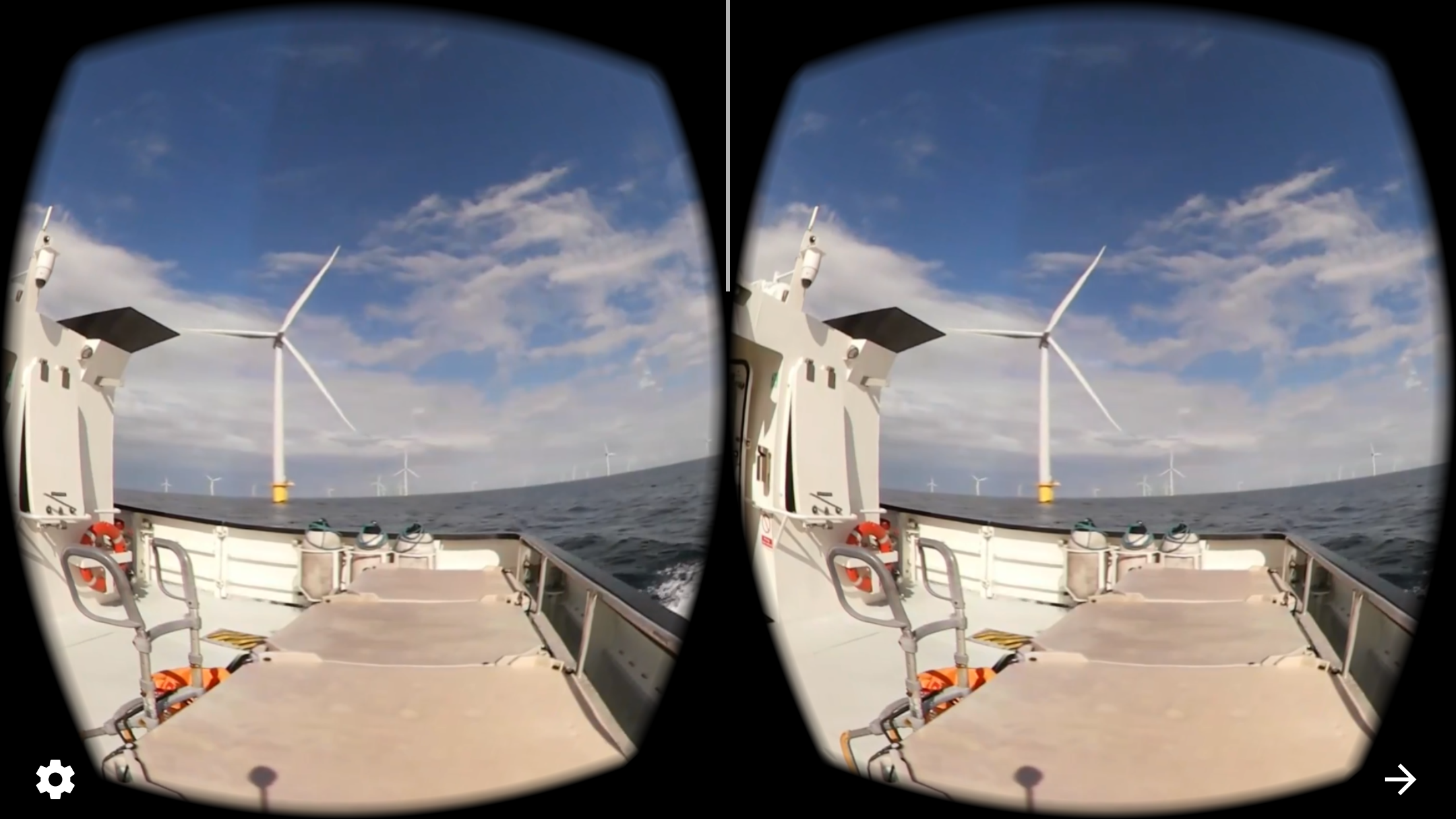 Dong's VR tour of a wind turbine on YouTube