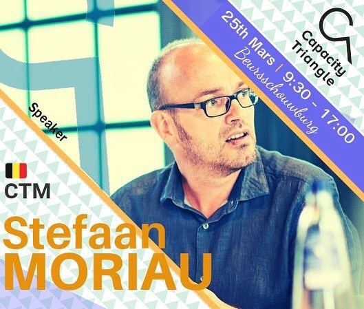 @stefaanmoriau will speak at the HOW MUSIC LICENSING WORKS panel at #capacitytriangle We Are Music Edition