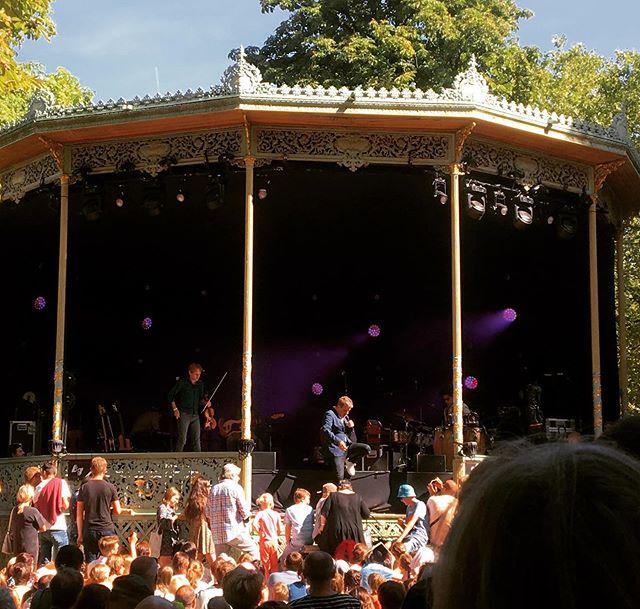 @bart_peeters_officieel op Boterhammen in Het Park 2019! #music #abconcerts #festival @abconcerts
