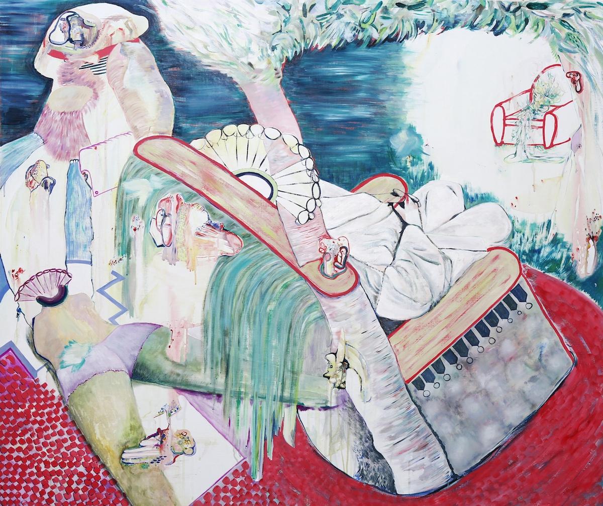 """""""Emperor"""", Acrylic on Canvas. 130 x 110 cm. 2016."""