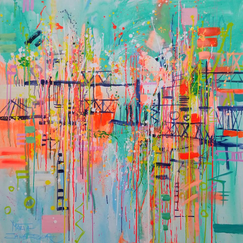 """""""On the Mad Bridge"""" by Marta Zawadzka"""