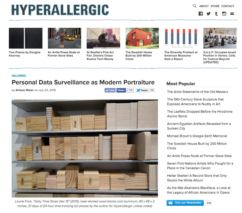 Hyperallergic by Allison Meier