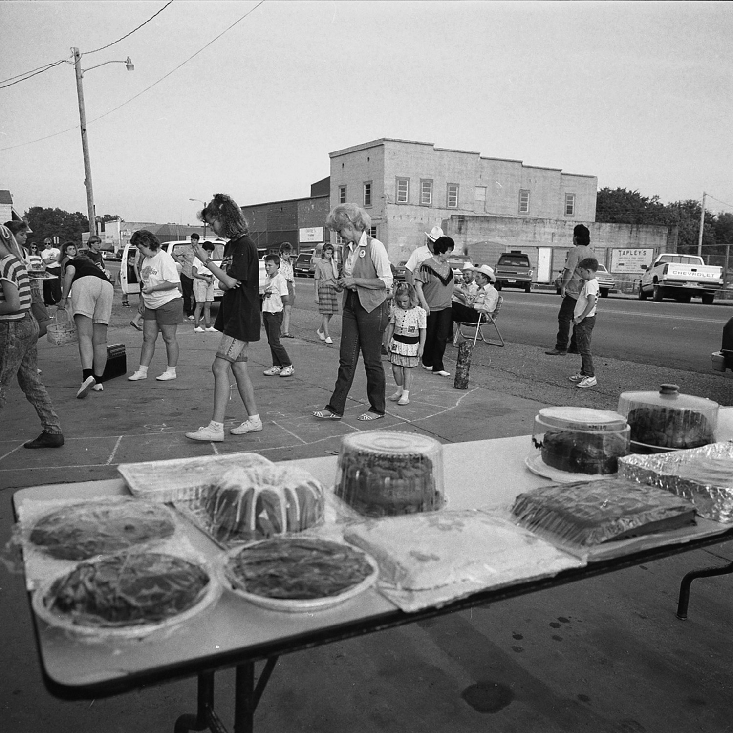 Cake Walk,  Ashland City, Tennessee, archival pigment print, 16x20, 1990
