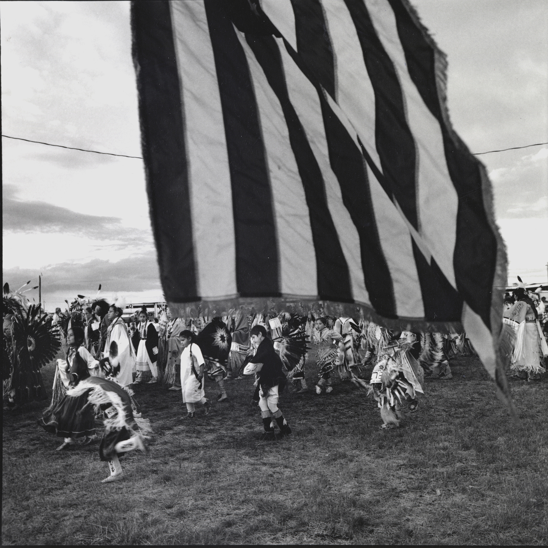 Grand Entry, Mandaree, North Dakota, archival pigment print,16x20, 1990