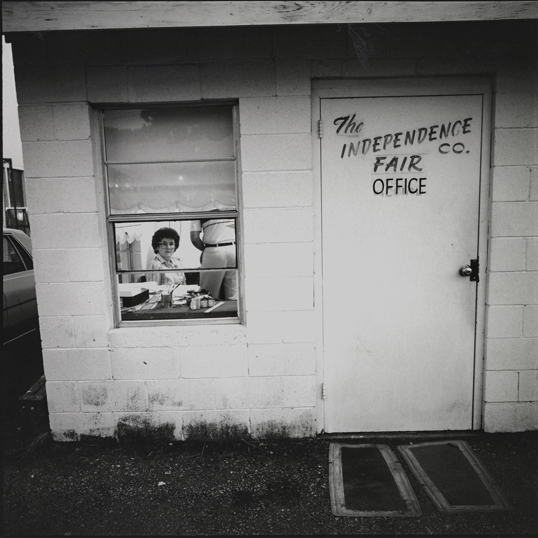 Fair Office, Batesville, Arkansas, archival pigment print,16x20, 1990