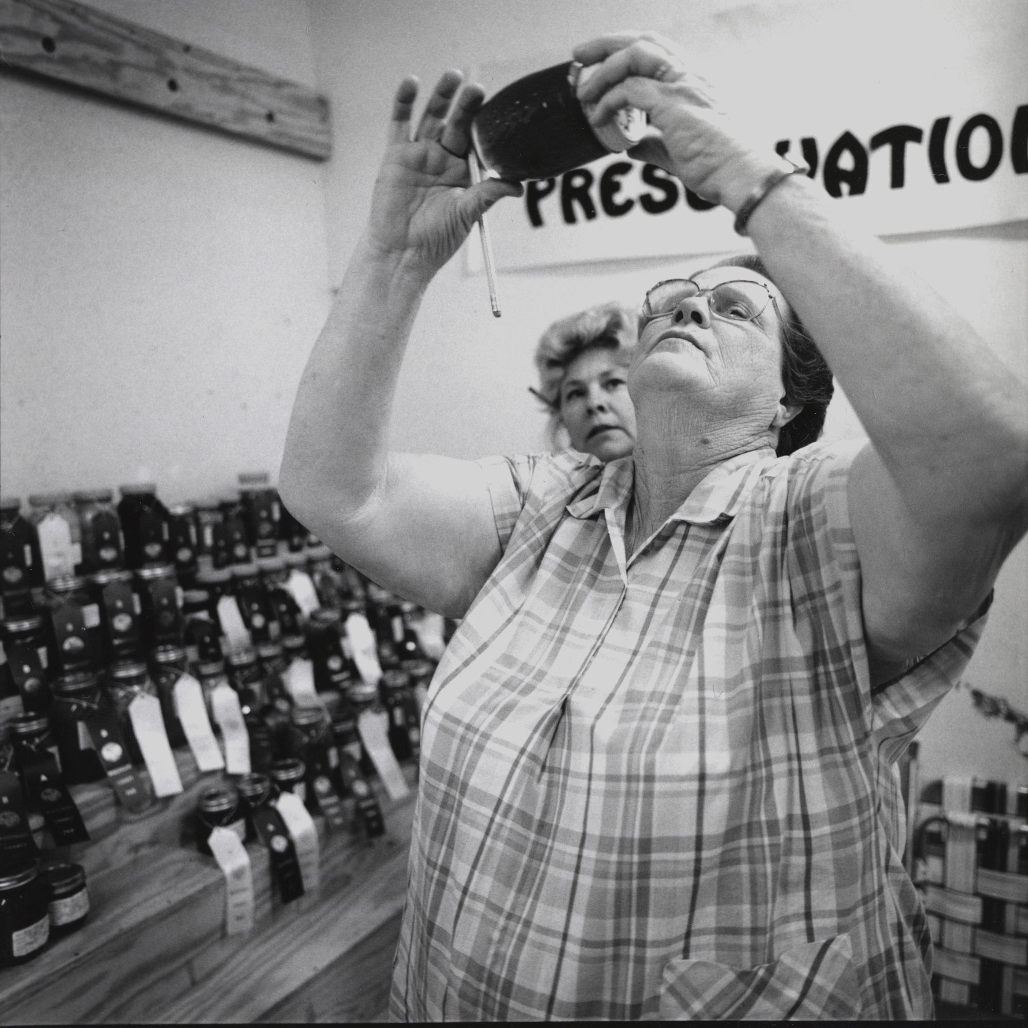 Women Judging Jam, McCrory, Arkansas, archival pigment print, 16x20, 1990