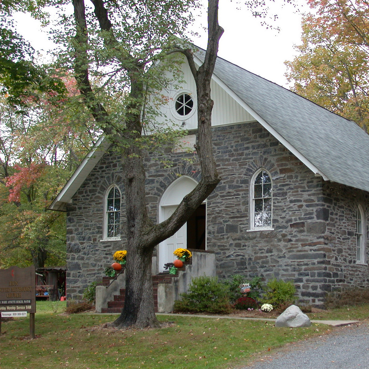 Mt. Zion United Methodist Church in Hillsborough, NJ