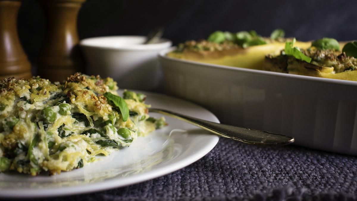 Spaghetti Squash ricotta peas spinach 16x9.jpg