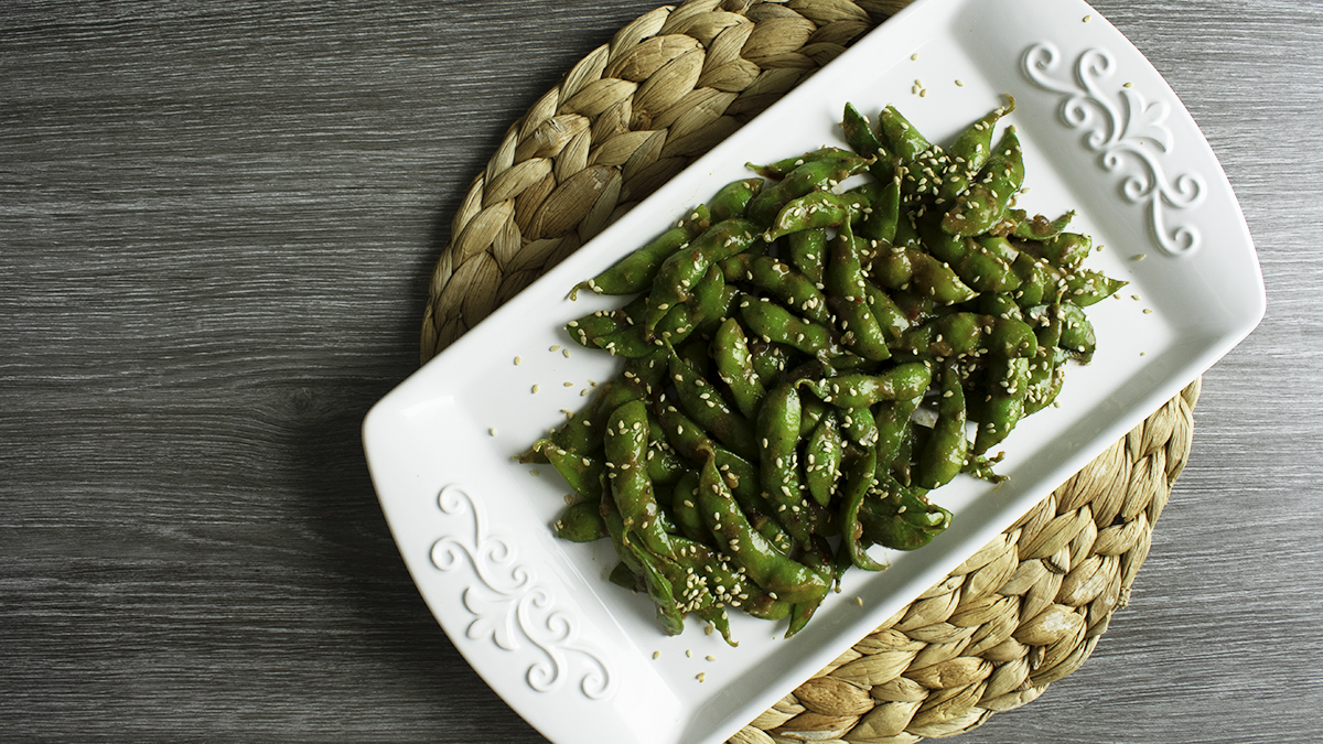 Sweet and Tangy Edamame