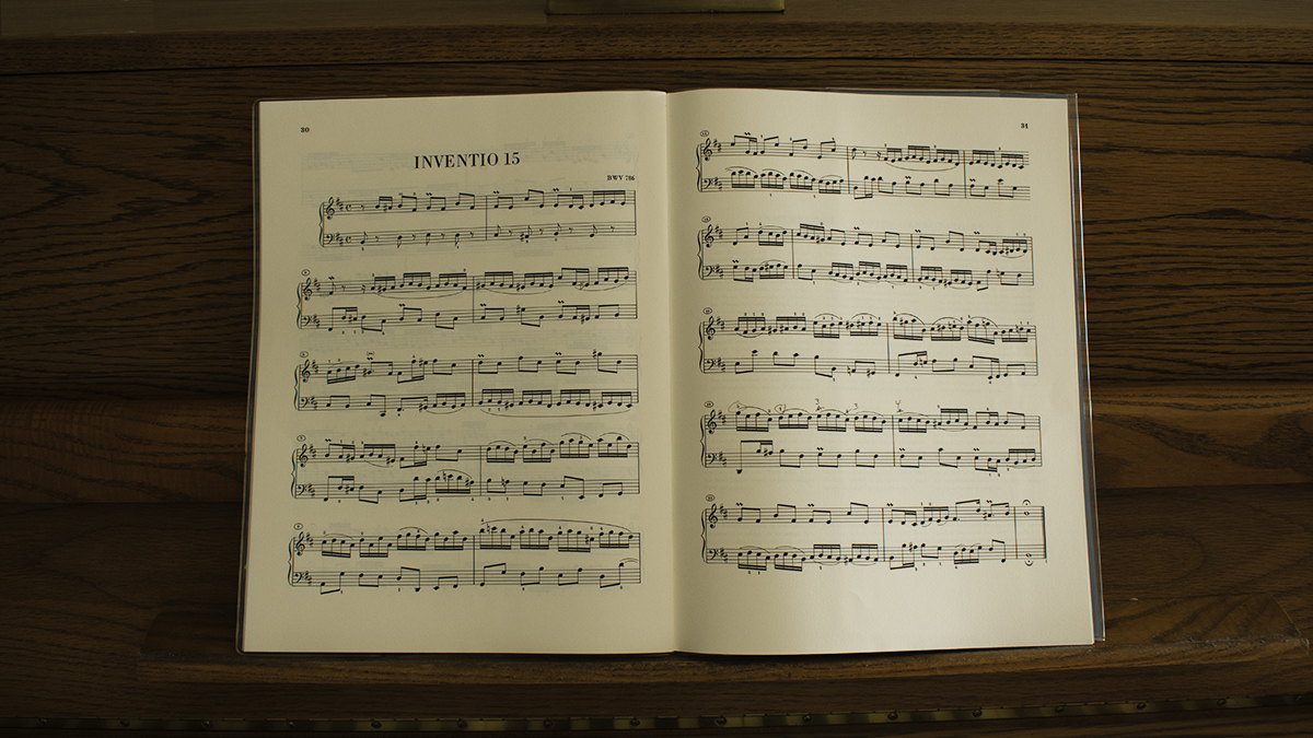 Bach, Two-Part Invention No. 15