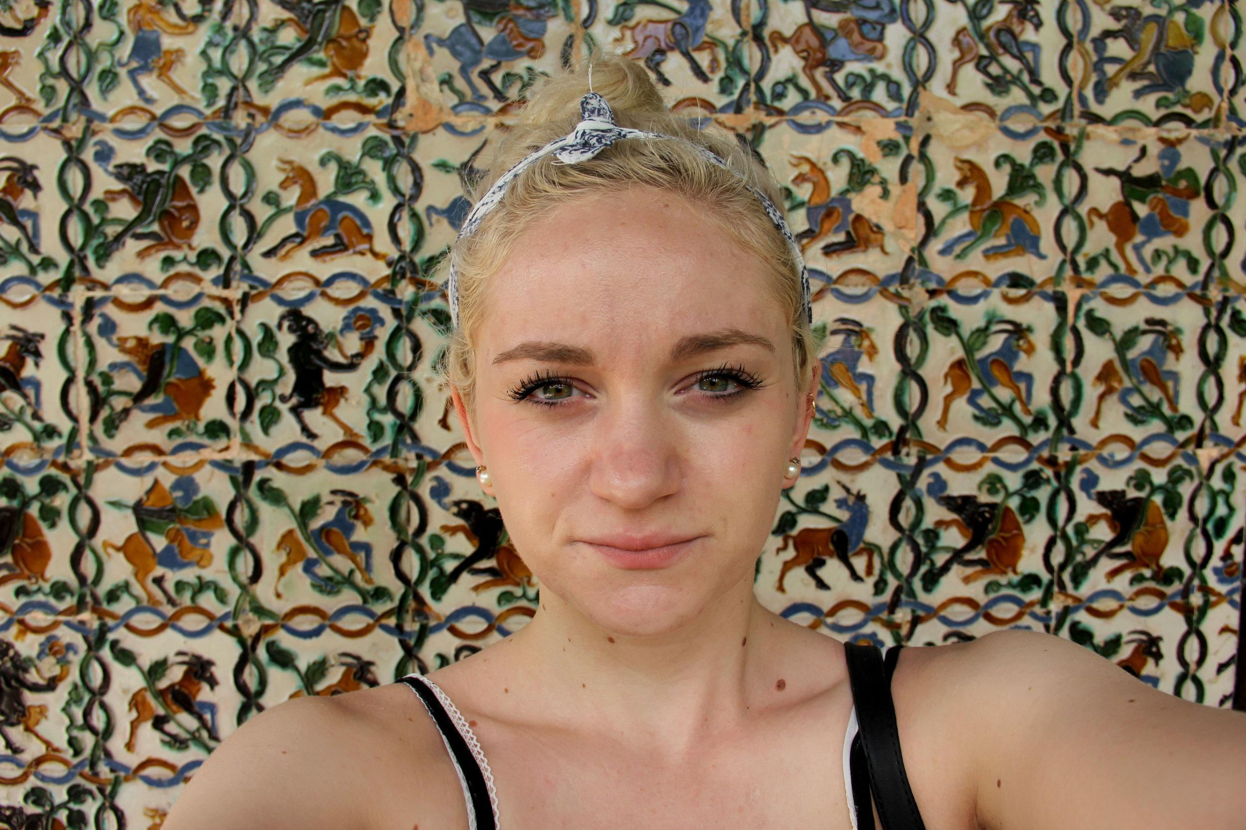 A Selfie - Heat Exhaustion