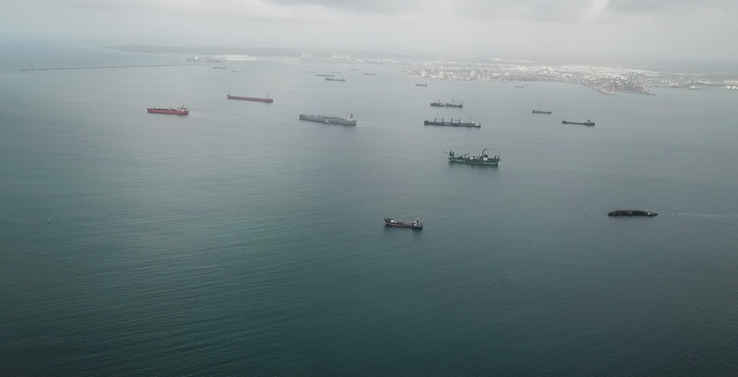 4. Arrival Panama canal.JPG