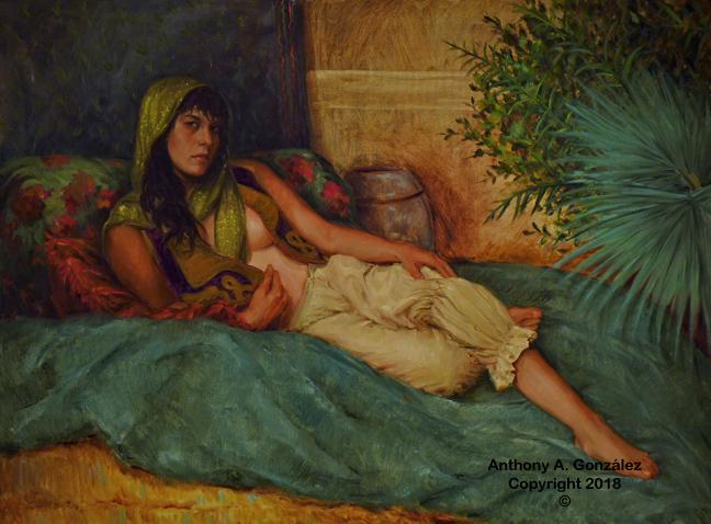 Anthony A. Gonzalez Figurative Paintings