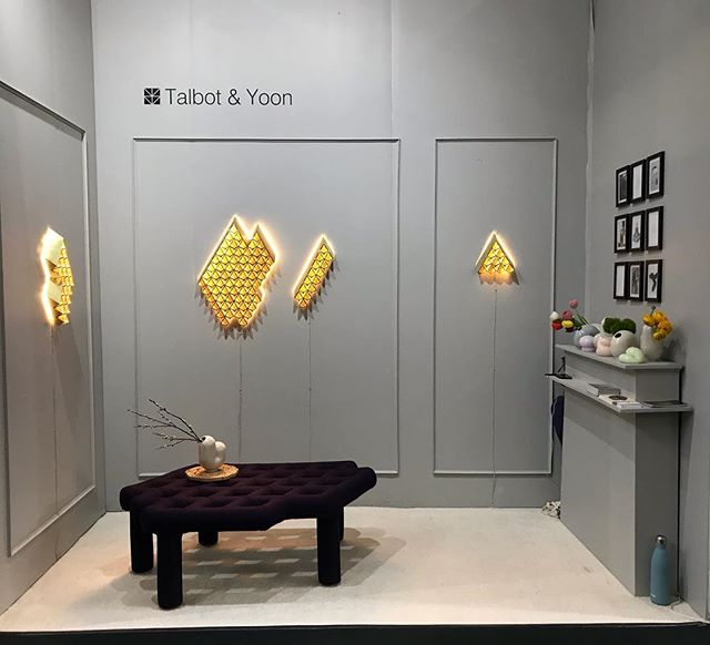 Last day @addesignshow  Lots of cool booths at the #made section. Thanks @interiordecline for putting it all together- couldn't have been more thrilled to have been a part of this awesome group. 😊 Check us out at booth M317.