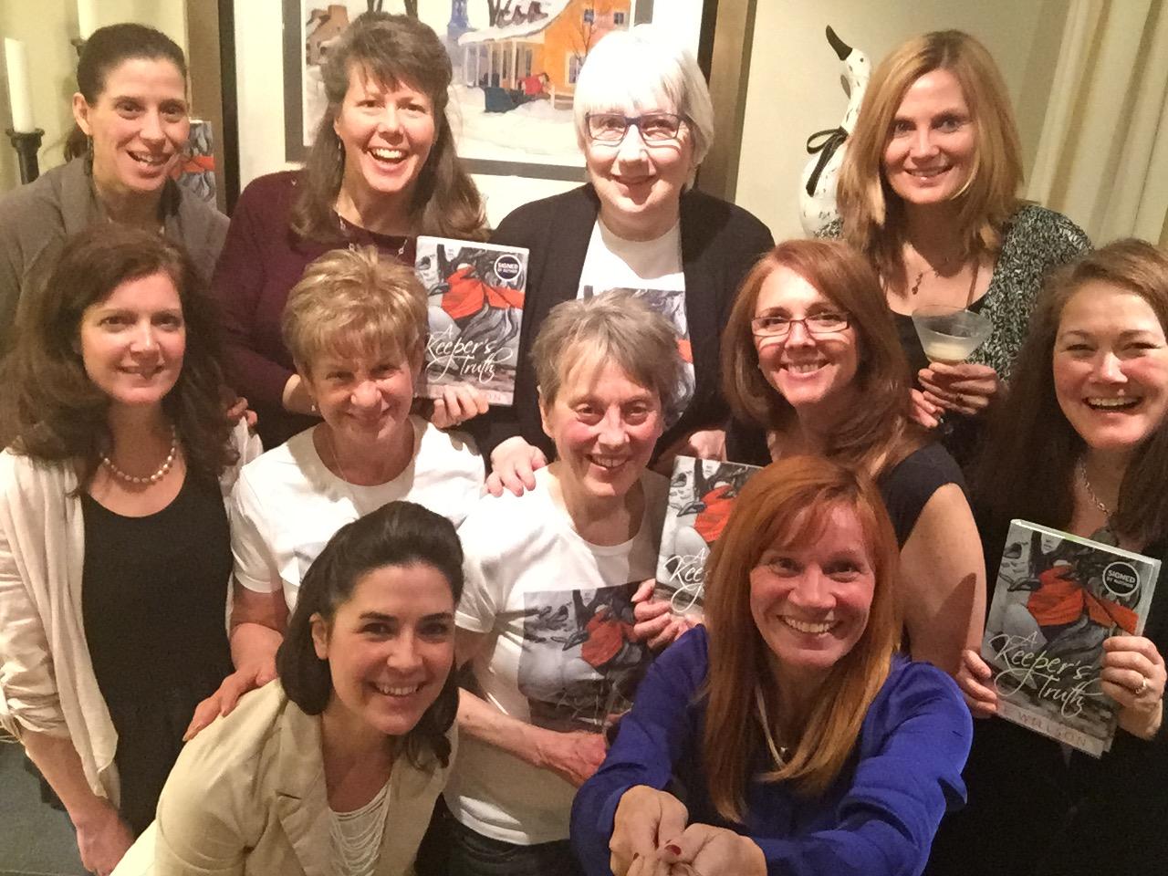 April 2016 Book Club, A Keeper's Truth, pic 4.JPG