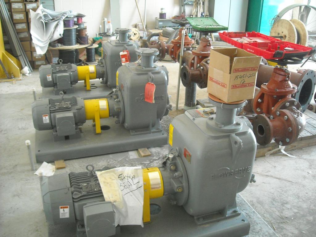Village of Bergen Wastewater Treatment Plant Equipment