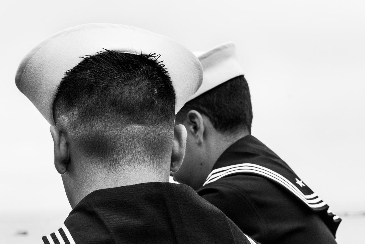 On the USS Chosin, San Francisco CA, October 2014
