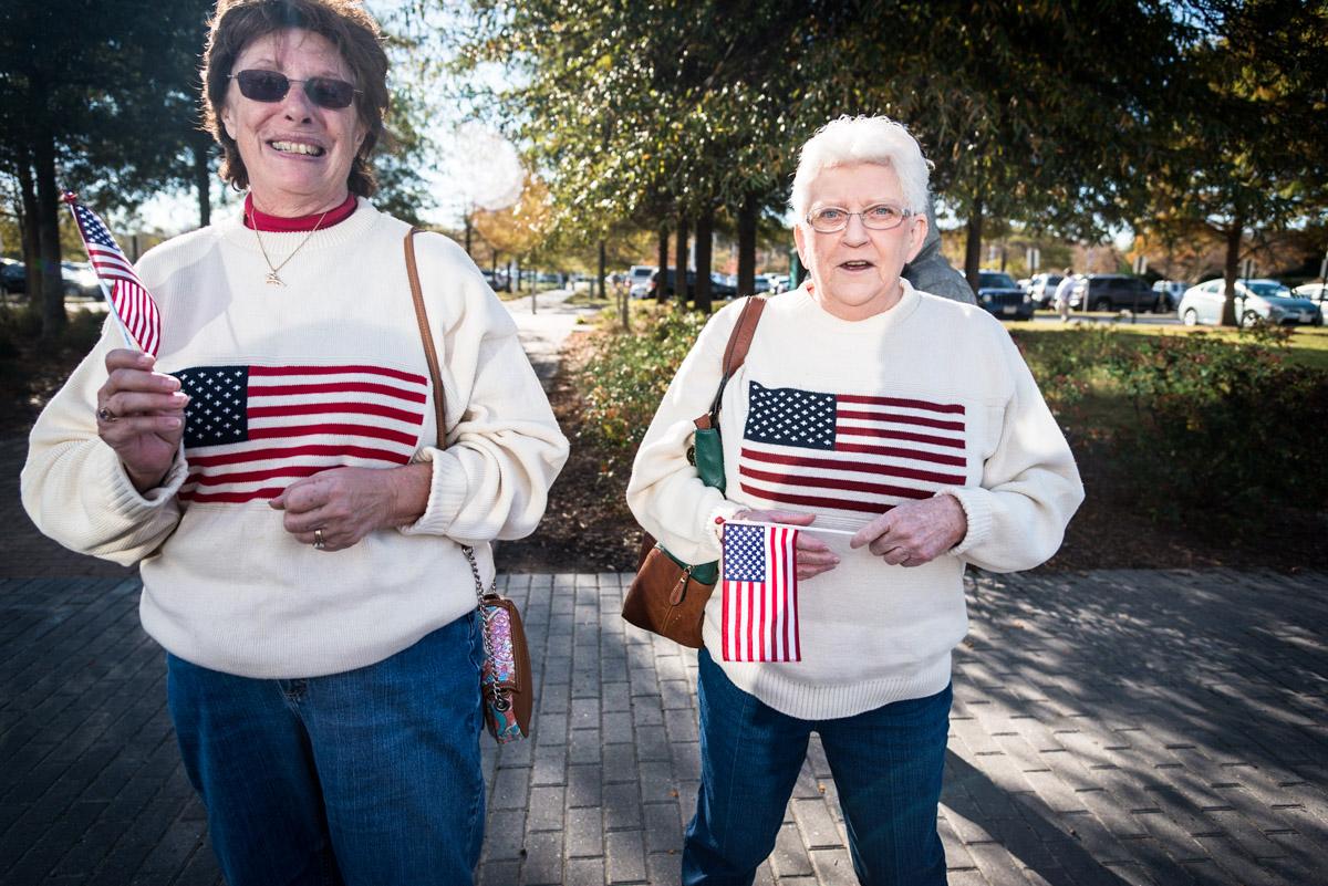 Patriotic Ladies, Virginia Beach VA, November 2013
