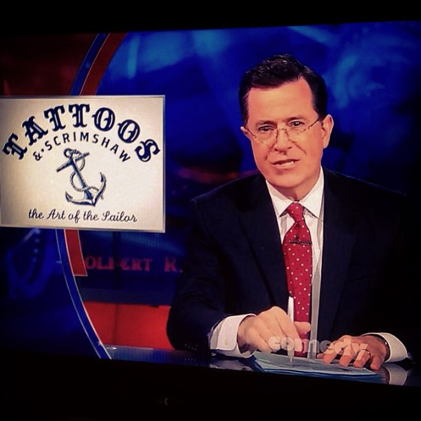 The Colbert Report, March 2013