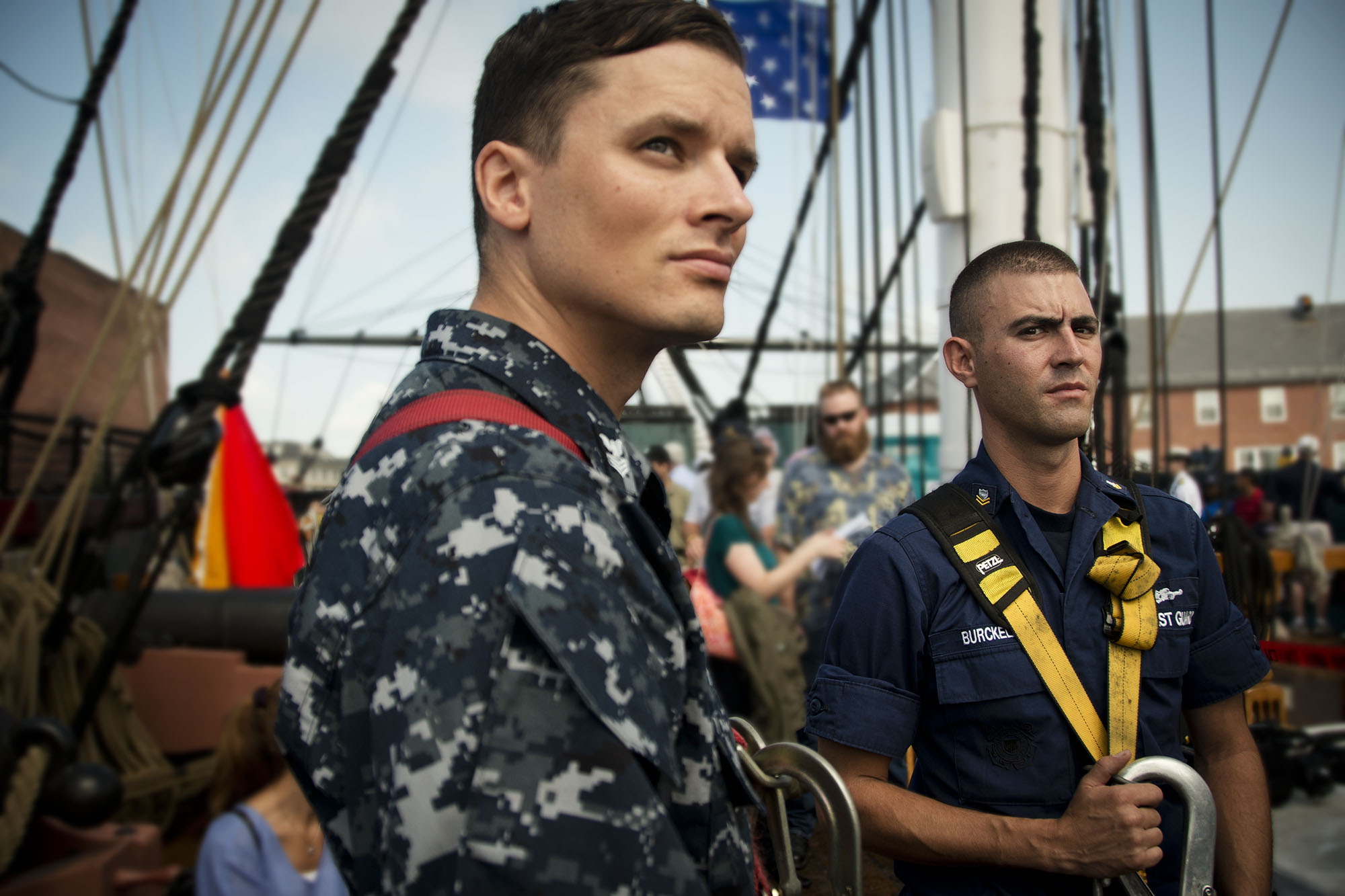 On the USS Constitution, Boston MA, July 2012