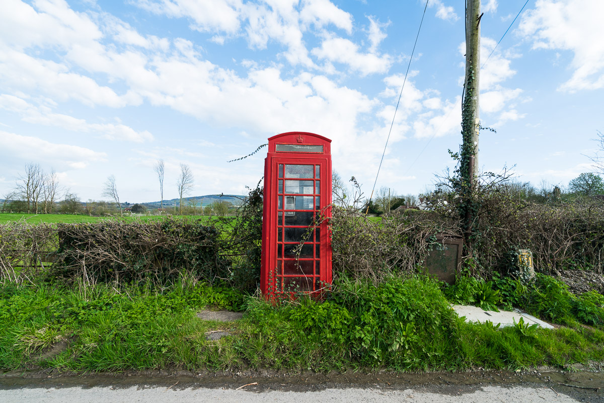 Phonebox, Berwick Village UK, March 2016