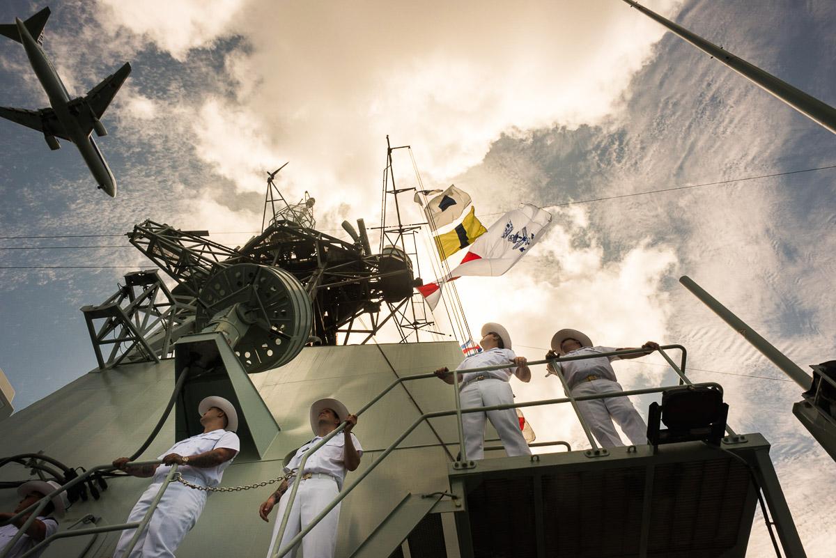 Arrival, Pearl Harbor HI, June 2016