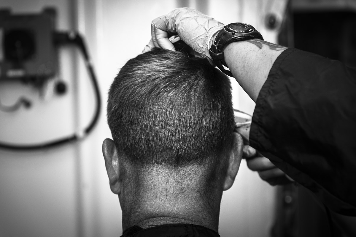 Barbershop, Pacific Ocean, June 2016