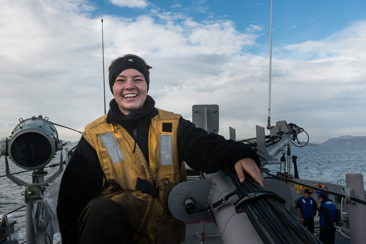 Sailor, San Francisco CA, October 2018