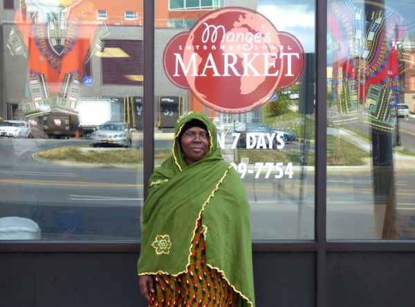 Mange's International Market, located on the Northside of the City of Syracuse and run by one of our New American entrepreneurs.