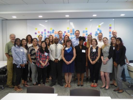 Public Agenda Public Engagement Workshop participants