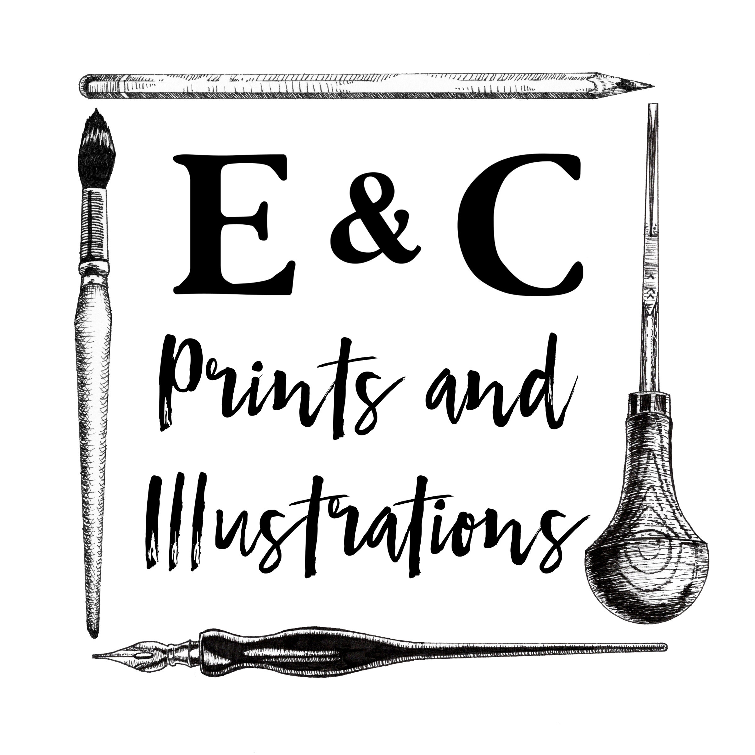 E & C Prints and Illustrations