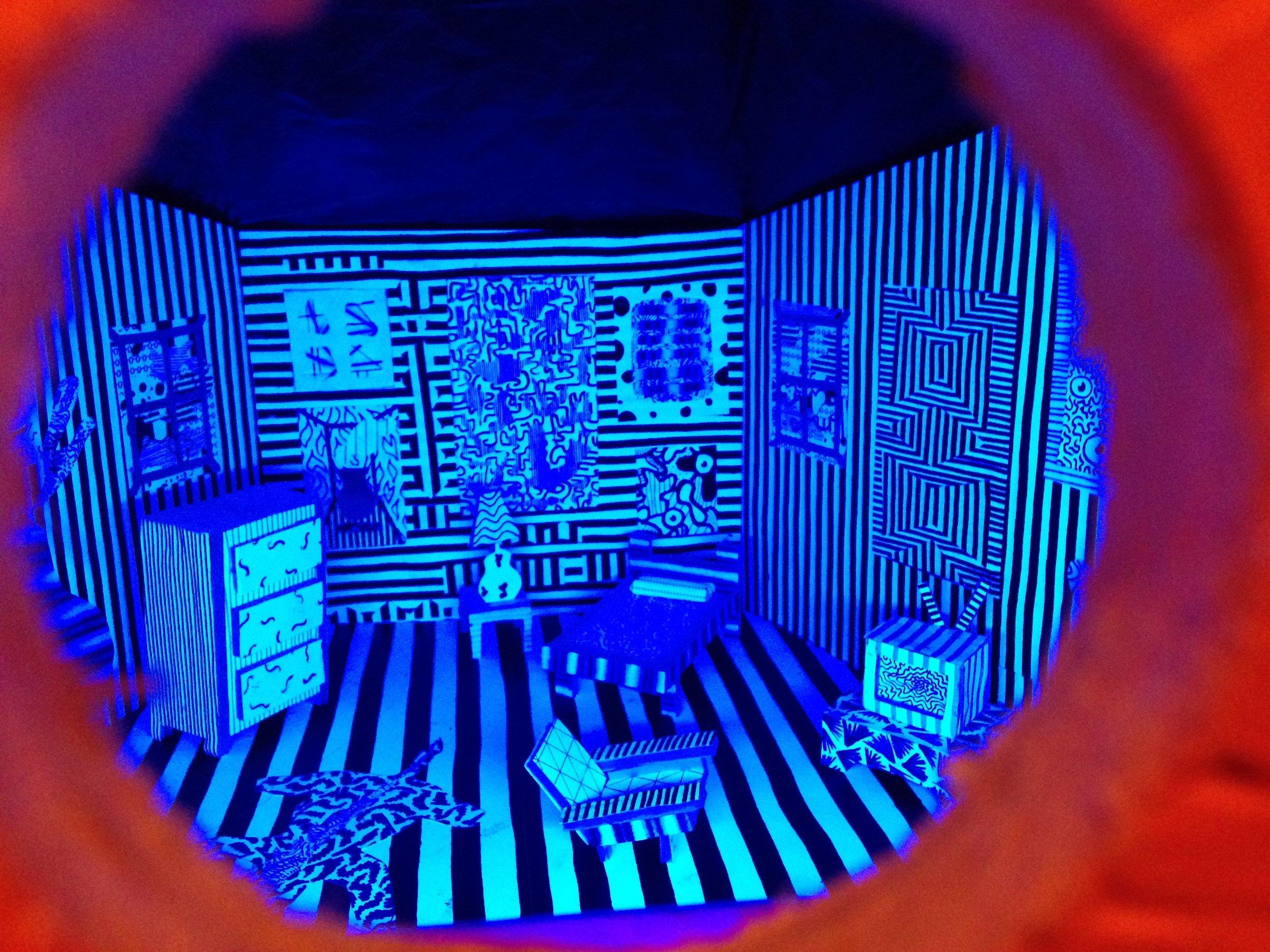 Peephole: David's Room