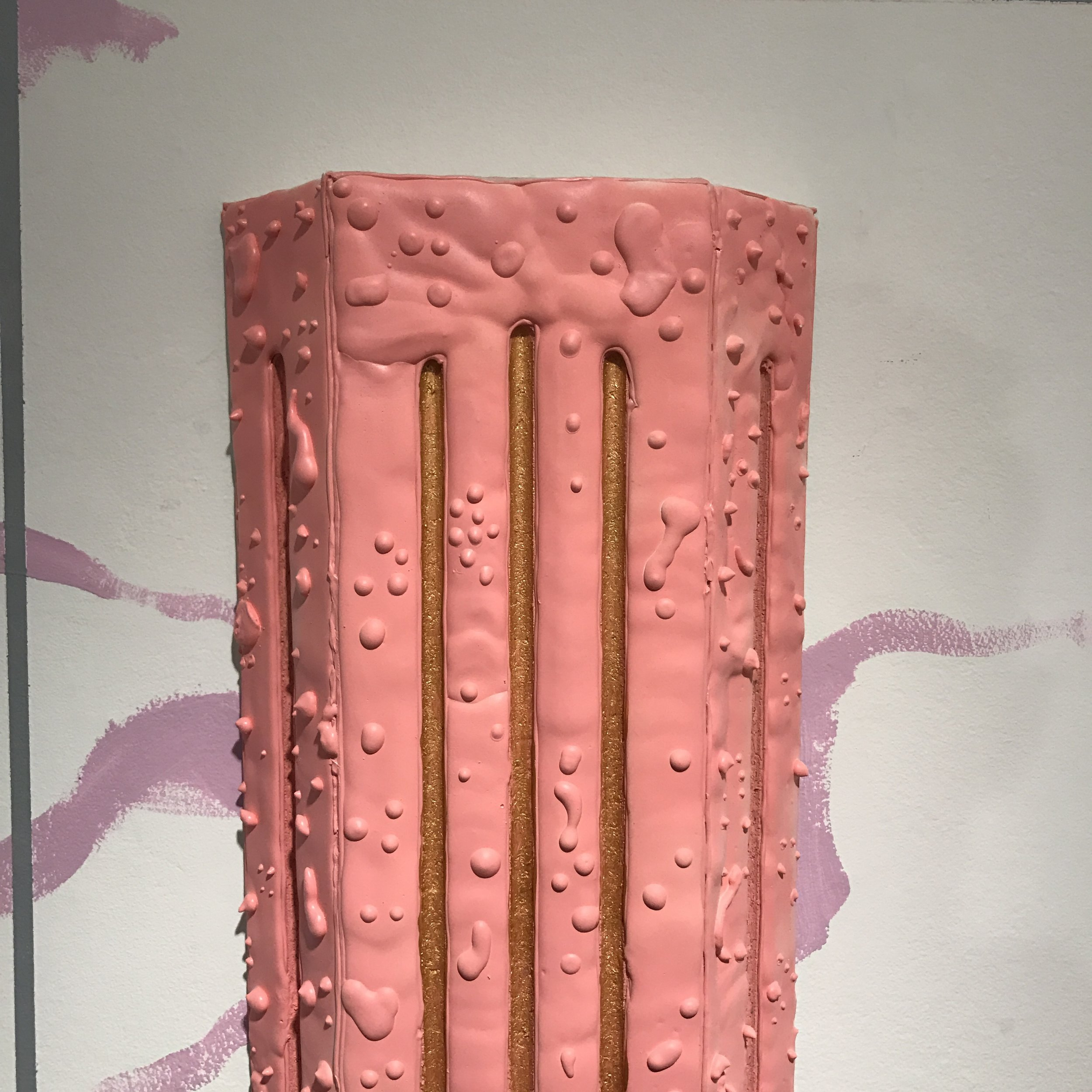 Blushing Column (detail)