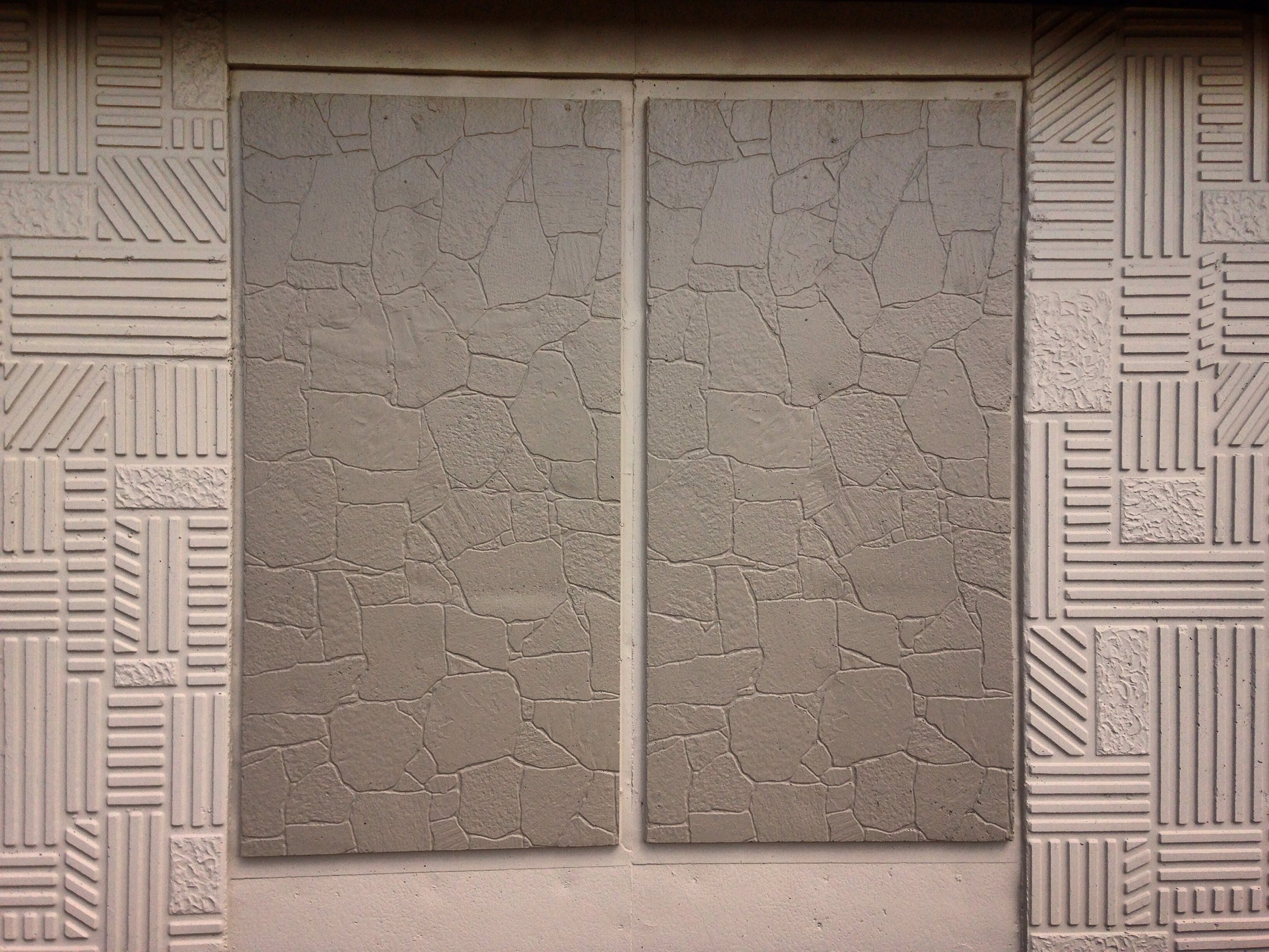 exterior wall relief