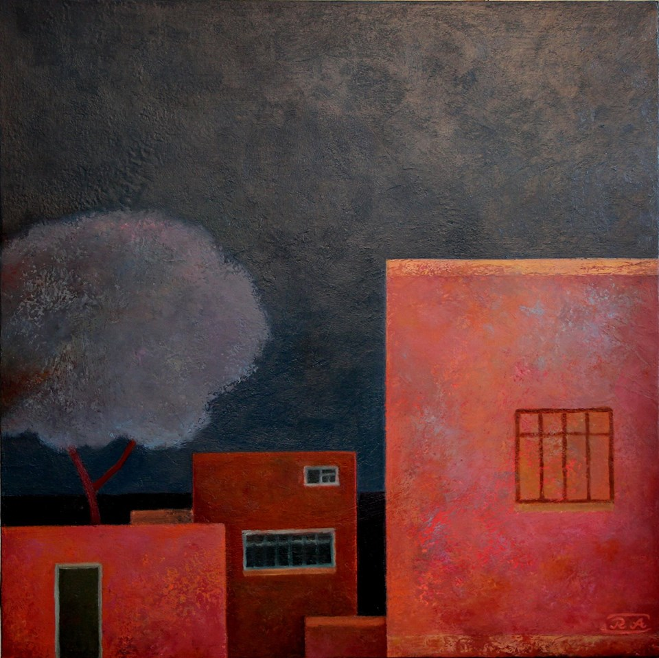 The evening. Bilgah, 60x60.jpg